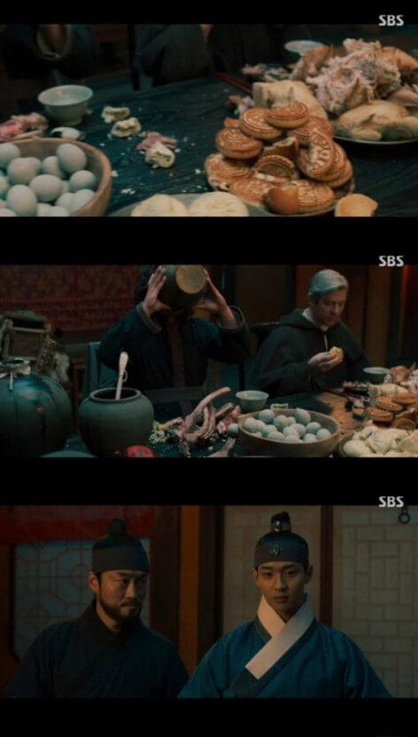 《朝鮮驅魔師》畫面出現許多中式食物引發韓網熱議