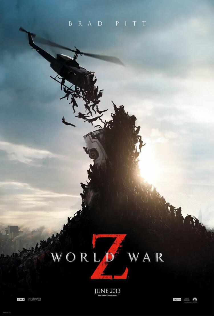 《末日Z戰》官方海報。