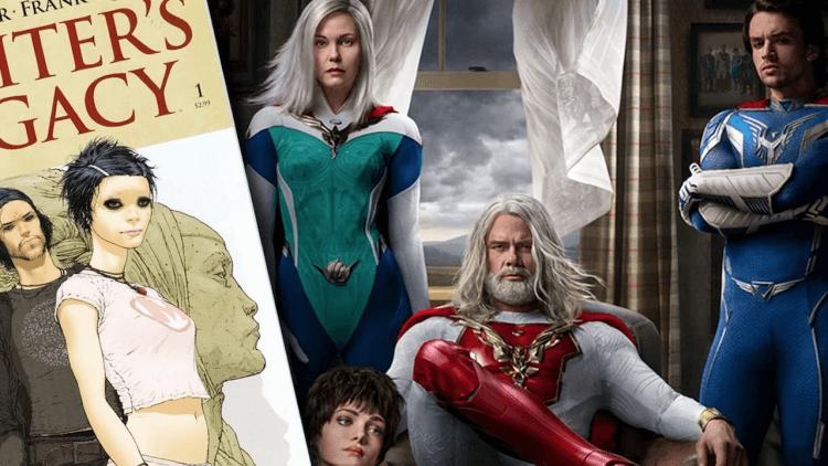 漫畫 vs 真人版 !《朱比特傳奇》Netflix 超級英雄科幻影集與原作的 6 點大不同首圖