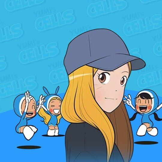 《柔美的細胞小將》漫畫