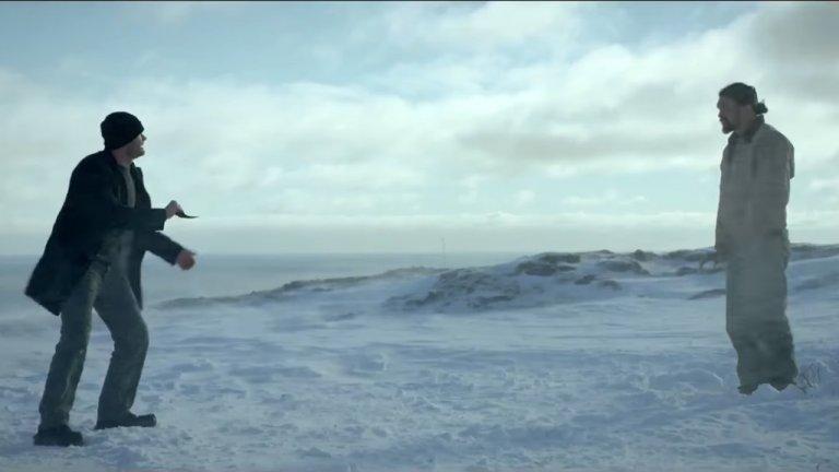 「水行俠」傑森摩莫亞主演的動作片《極限救援》劇照。