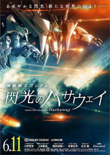 《機動戰士鋼彈:閃光的哈薩威》。