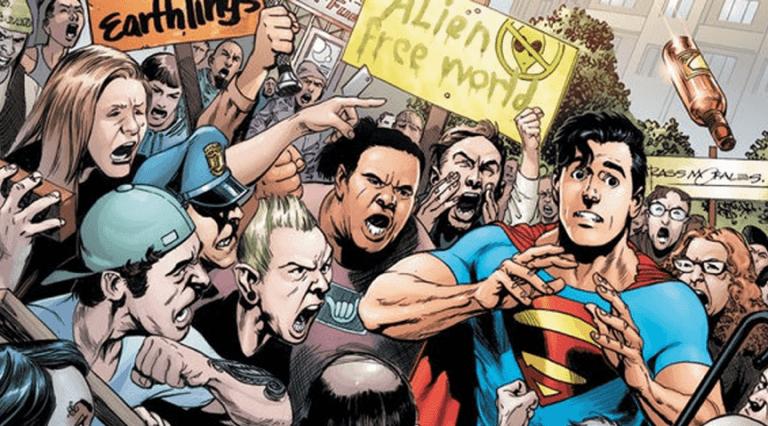 DC的超人漫畫。