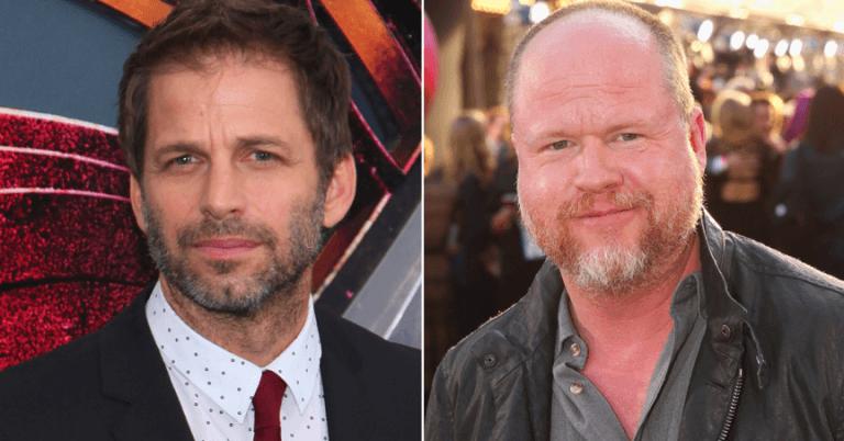 查克史奈德 (Zack Snyder)(左)與喬斯溫登 (Joss Whedon)(右)。