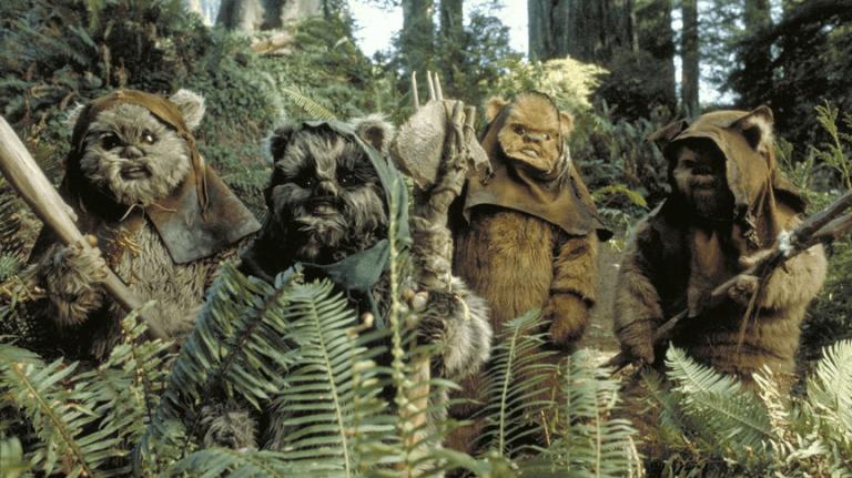 《星際大戰六部曲:絕地大反攻》(Star Wars Episode VI: Return of the Jedi) 劇照。