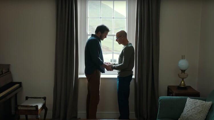 柯林佛斯、史丹利圖奇主演電影《永遠的我們》劇照。