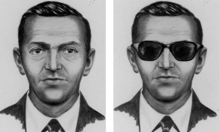 歷史上最有名劫機犯 DB 庫柏。