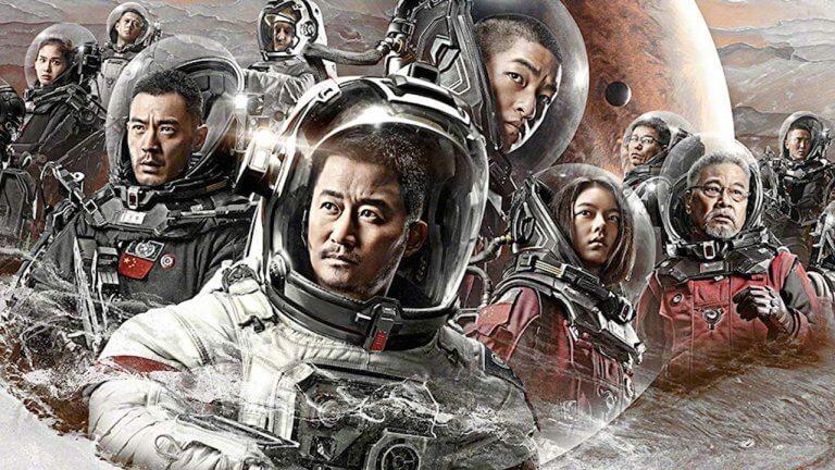 中國打造的科幻大片《流浪地球》。