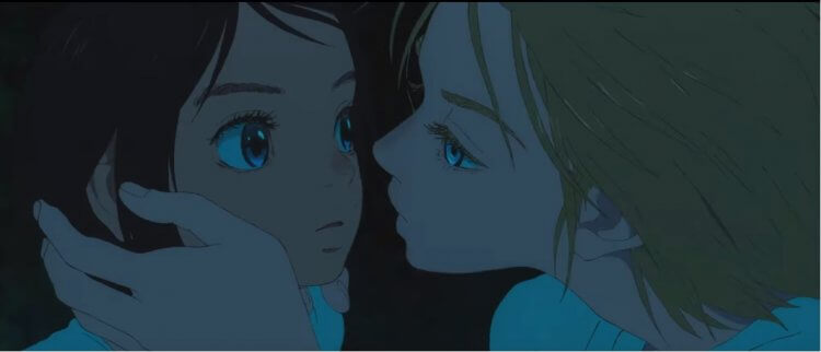 《海獸之子》琉花與神秘少年空