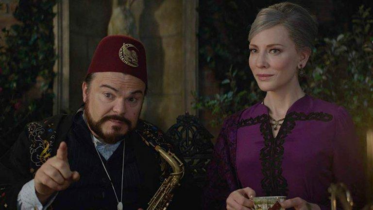 傑克布萊克與凱特布蘭琪在《滴答屋》中的化學效應令人印象深刻。