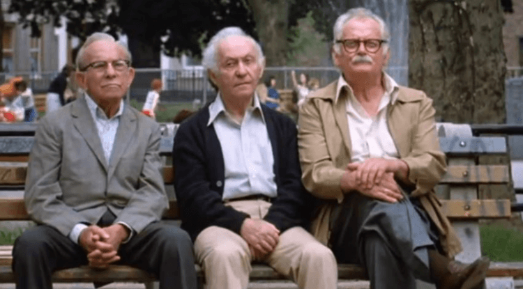1979 年電影《三個老槍手》(Going in Style)。