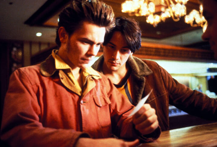 瑞凡菲尼克斯及基努李維主演電影《男人的一半還是男人》修復重映。