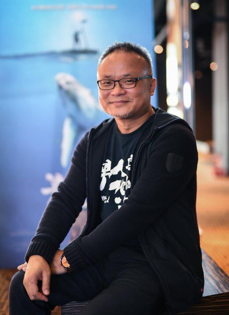台灣海洋紀錄片《男人與他的海》導演黃嘉俊。