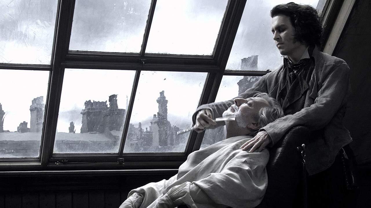 艾倫里克曼 在 歌舞片 《 瘋狂理髮師 》中飾演杜平法官。