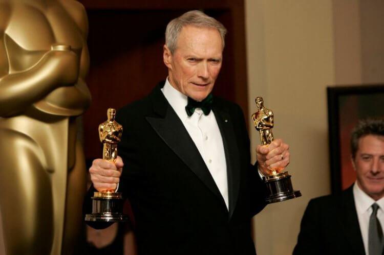 憑藉《登峰造擊》在2004年獲得奧斯卡「最佳導演」及「最佳影片」的克林伊斯威特。