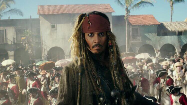 《神鬼奇航》強尼戴普飾演傑克船長。