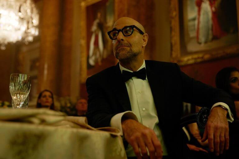 《私人戰爭》史丹利圖奇在本片詮釋女主角的男友