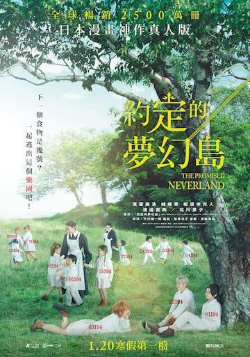 《約定的夢幻島》電影海報。