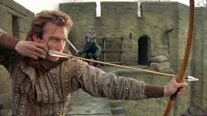 1991 年《 俠盜王子羅賓漢 》 劇照 。