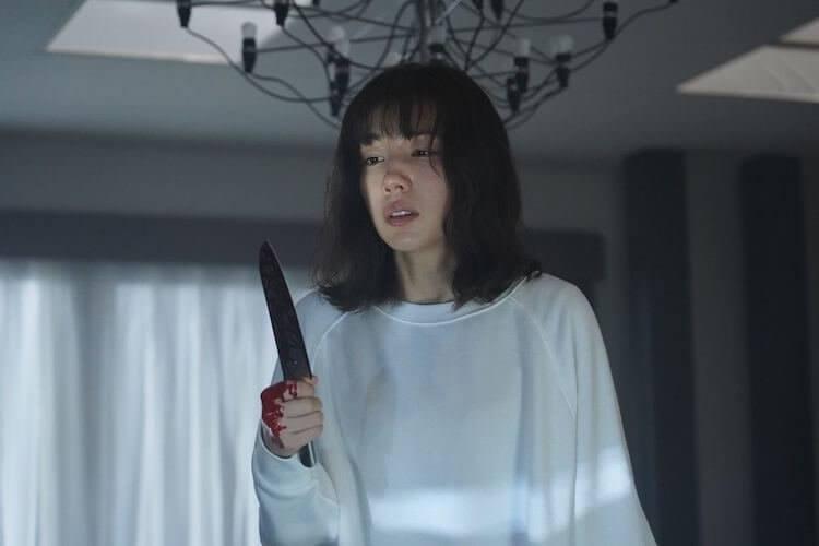 仲里依紗演出漫改日劇《美食偵探 明智五郎》劇照。