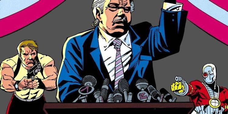 《自殺突擊隊》漫畫。