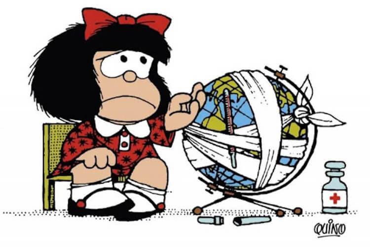 阿根廷漫畫《娃娃看天下》。