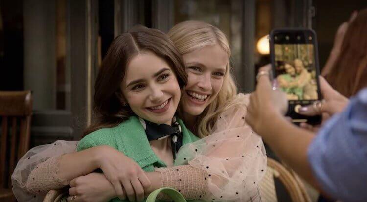 《艾蜜莉在巴黎》第一季劇照。