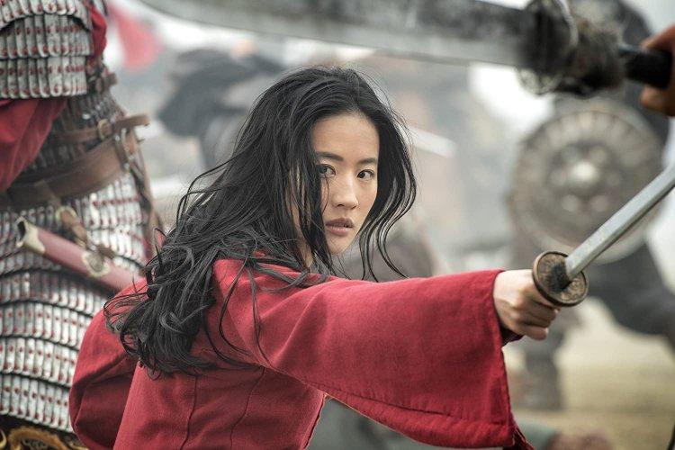 迪士尼真人電影《花木蘭》女主角劉亦菲。