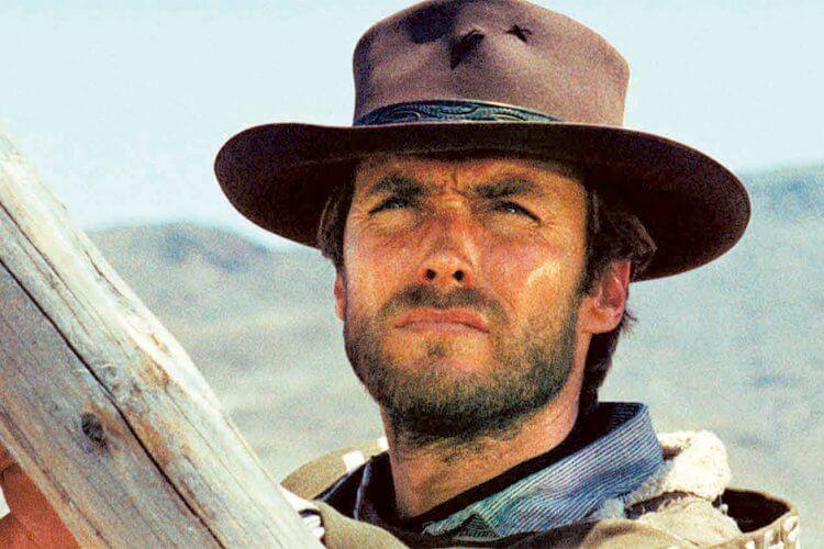 《荒野大鏢客》克林伊斯威特。