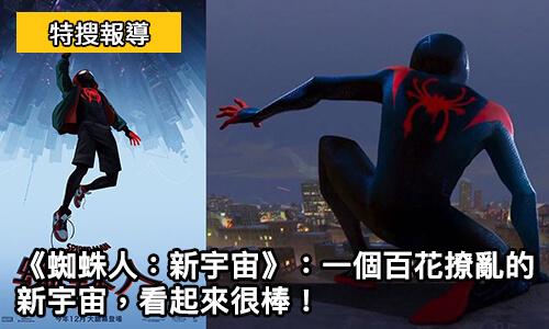 《 蜘蛛人:新宇宙 》 一個百花撩亂的新宇宙, 看起來很棒_蜘蛛人 動畫電影