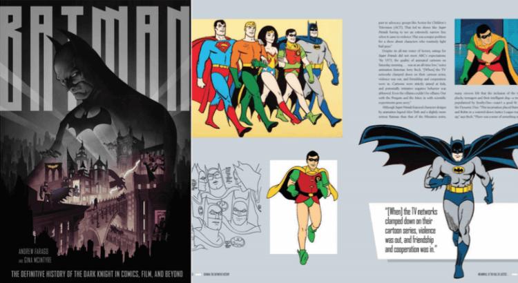 《蝙蝠俠:黑暗騎士漫畫電影與未來大百科》一書。