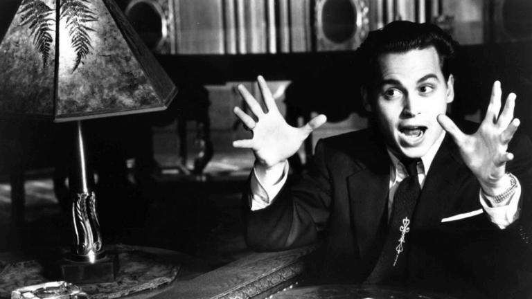 1994 年由提姆波頓執導,強尼戴普主演的《艾德伍德》。