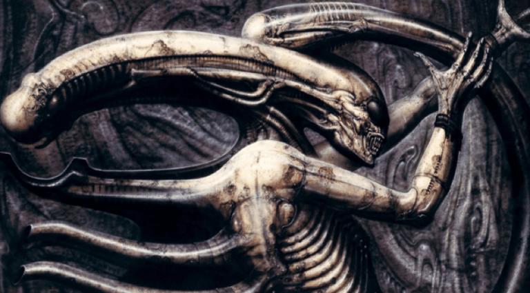 H·R·吉格爾所設計的駭人異種:《異形》。