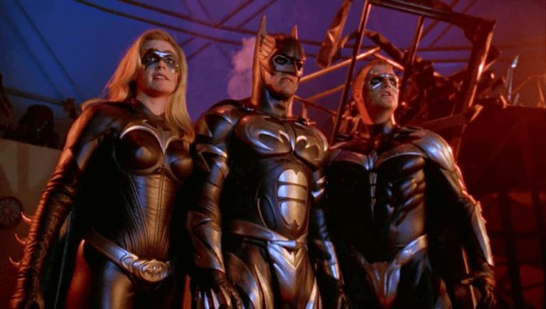 1997 年的超級英雄電影《蝙蝠俠 4:急凍人》(Batman & Robin)。