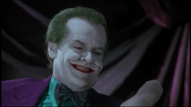 傑克尼克遜 (Jack Nicholson) 飾演的小丑