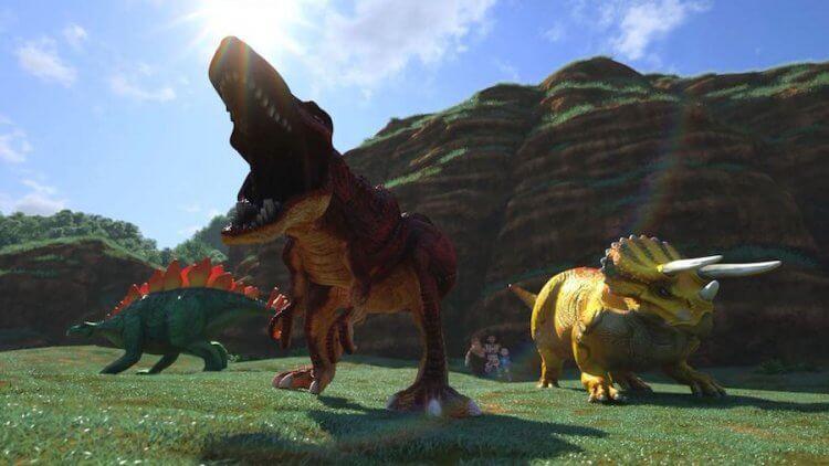 韓國動畫電影《衝鋒戰士劇場版:恐龍世代》劇照。