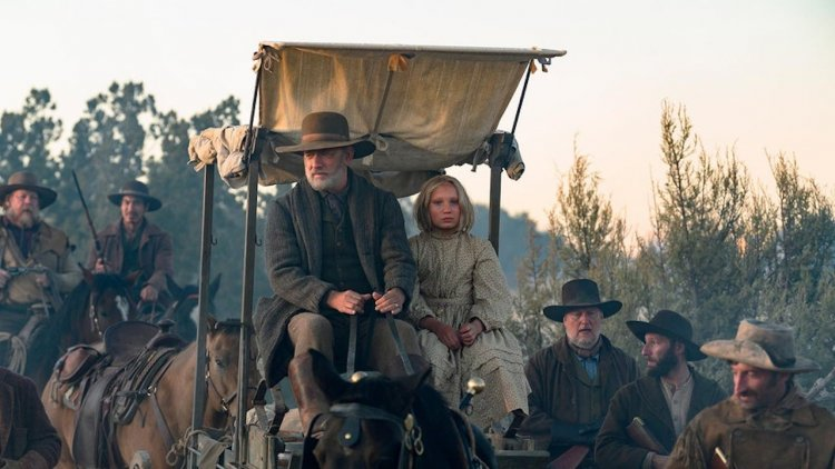 湯姆漢克斯新片《讀報人》預告首曝光!攜手《蘿莉破壞王》童星勇闖美國西部首圖