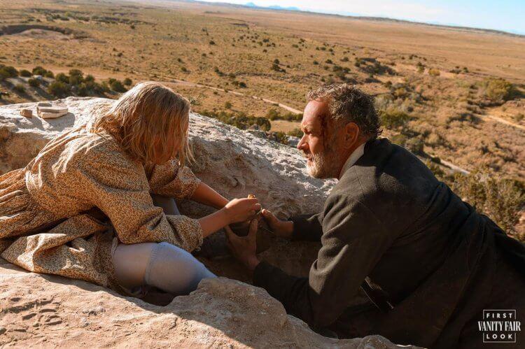 《讀報人》由湯姆漢克斯與海倫娜澤格爾主演。