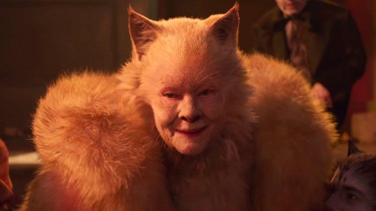 《貓》(Cats) 中的茱蒂丹契 (Judi Dench)