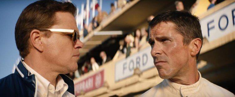 《賽道狂人》(Ford v. Ferrari) 找來演技派男星麥特戴蒙與克里斯汀貝爾重現車壇經典對決。