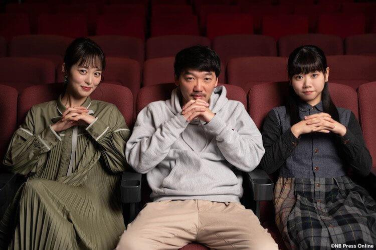 《超越無限兩分鐘》卡司(左起):朝倉禮生、土佐和成、藤谷理子。