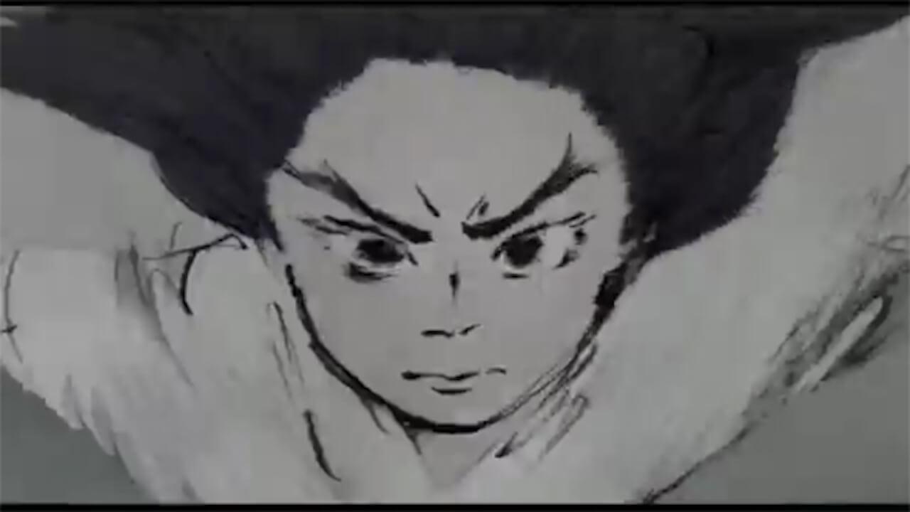 吉卜力動畫電影《輝耀姬物語》全手繪卻情緒濃烈的作畫畫面。