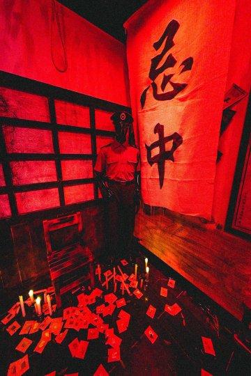 以戒嚴時代台灣社會為背景,電影《返校》體驗展覽館佈置了許多片中使用的拍攝道具。