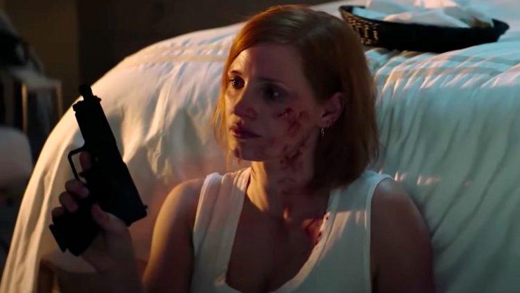 《追殺艾娃》潔西卡雀絲坦。