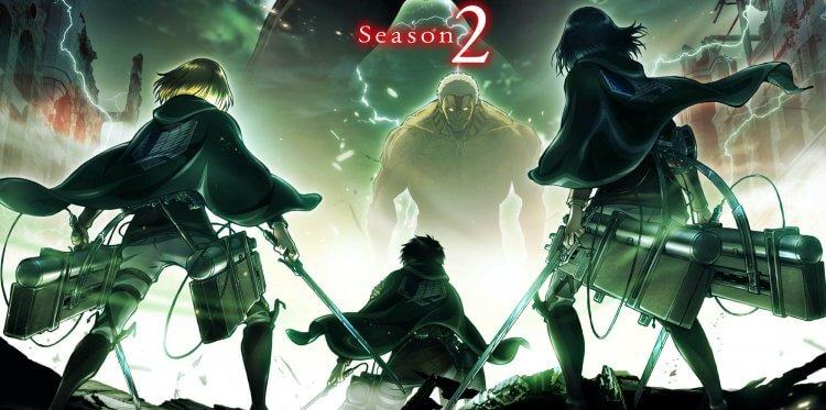 《進擊的巨人》第二季宣傳圖。