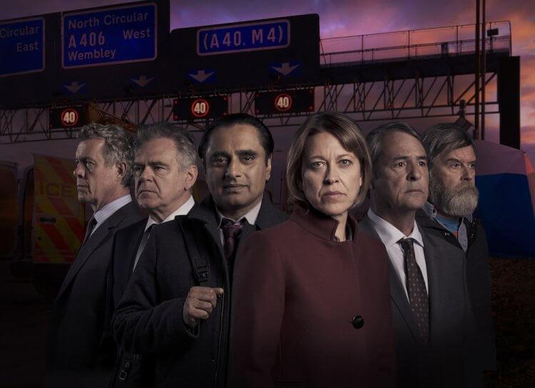 BBC 英劇《遺骨懸案 第四季》劇照。