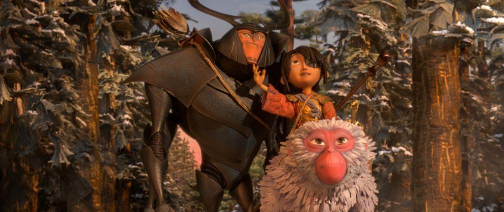 由 莎莉賽隆 魯妮瑪拉 馬修麥康納 亞特帕金森 等知名影星聯手為《 酷寶:魔弦傳說 》獻聲演出。