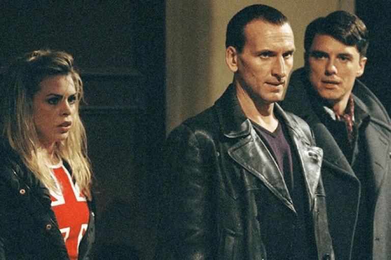 《神秘博士》影集系列中的克里斯多福艾克斯頓。