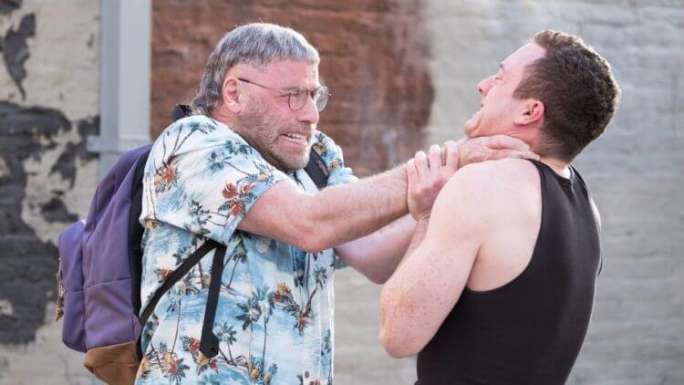 約翰屈伏塔主演電影《頭號粉絲》劇照。