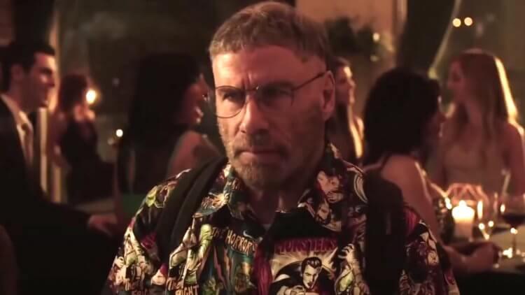 電影《頭號粉絲》中的約翰屈伏塔。